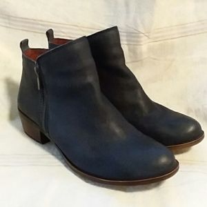 Lucky Brand Navy Ankle Boots